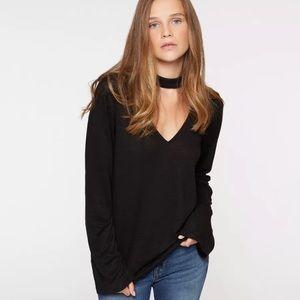 Revolve • Sanctuary • Choker Sweater Black